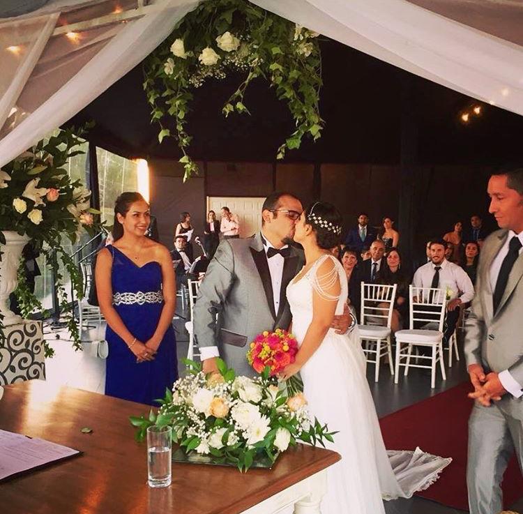 Cuarteto de cuerdas en ceremonia civil en Vista Santiago