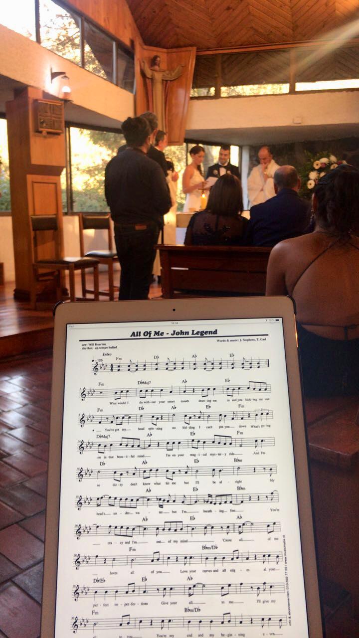 musica matrimonio coro iglesia novios