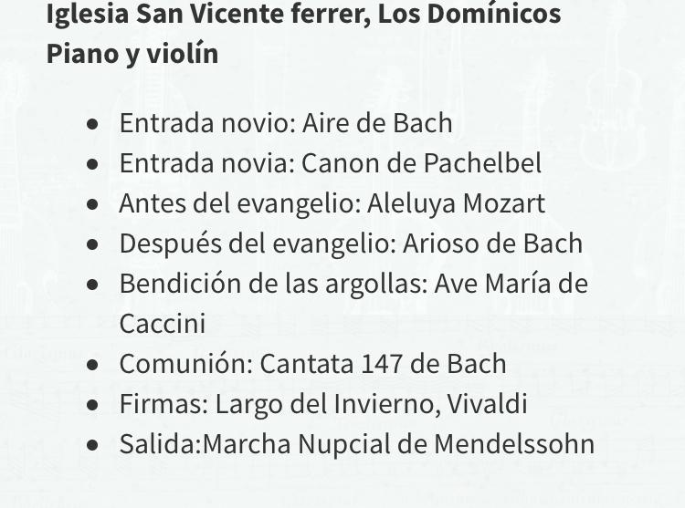 canciones para matrimonio religioso musica para ceremonias chile