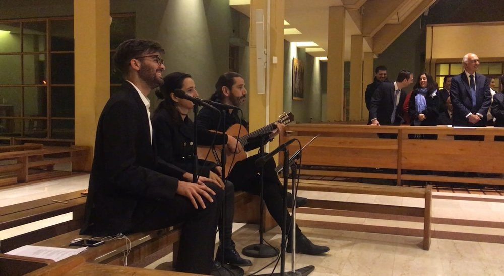 Coro matrimonio cantantes y músicos para matrimonios chile iglesia ceremonia pop liturgico clásico