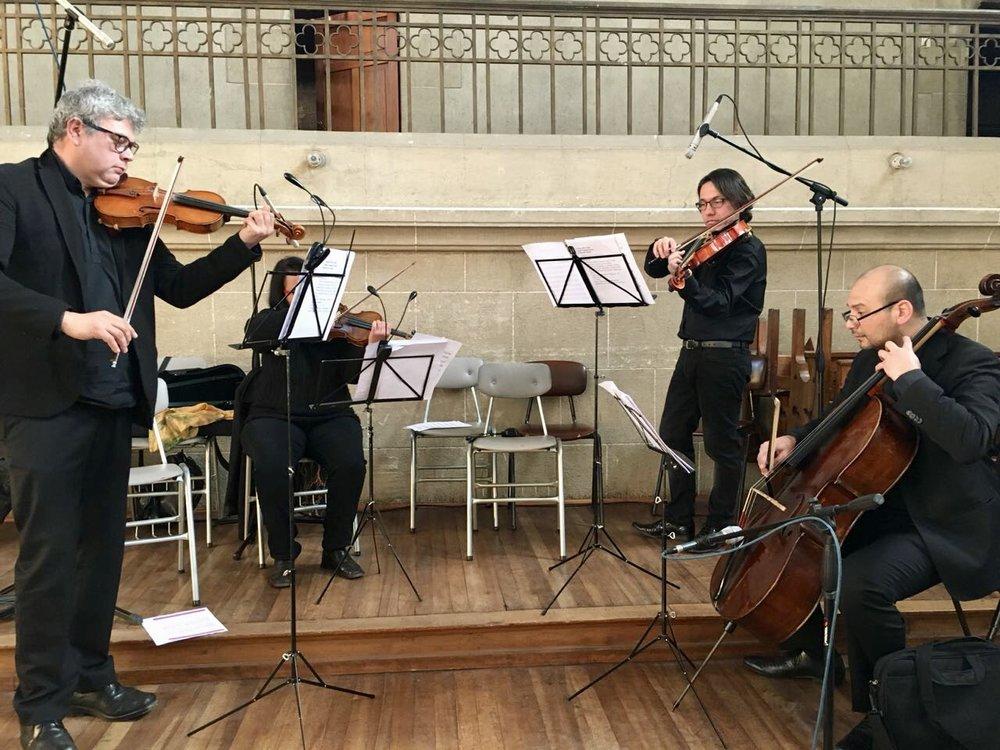 cuarteto de cuerdas matrimonios Músicos para eventos Agez Chile