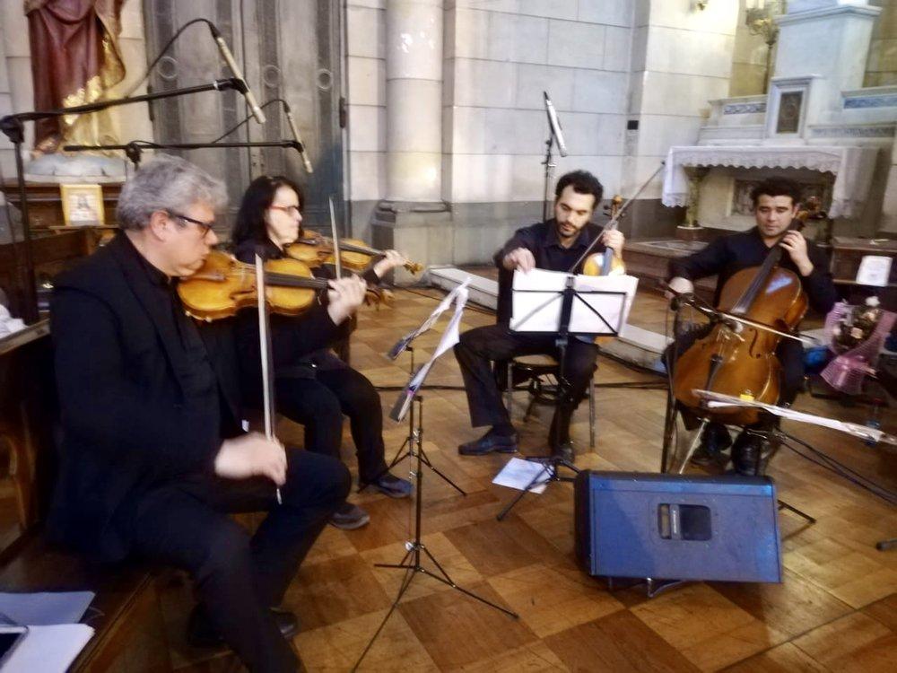 Cuarteto de cuerdas coro matrimonios Músicos para eventos Agez Chile