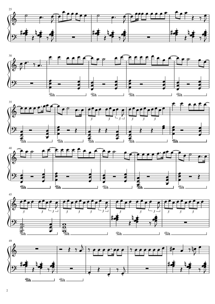 Ariana Grande Sheet music free download partituras gratis Agez Chile