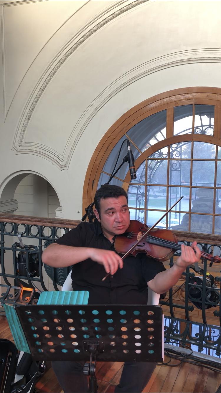 Violin Músicos para eventos Agez Chile