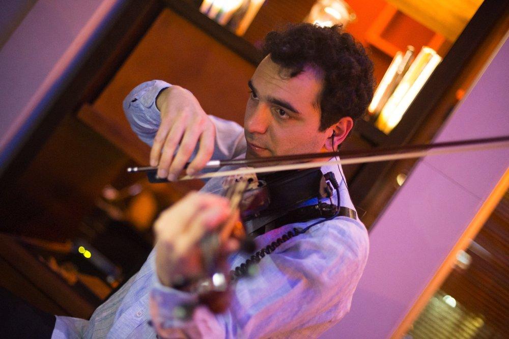 Electroclásicos Chile Cuarteto de cuerdas eléctrico Músicos para eventos violines cello viola electrica