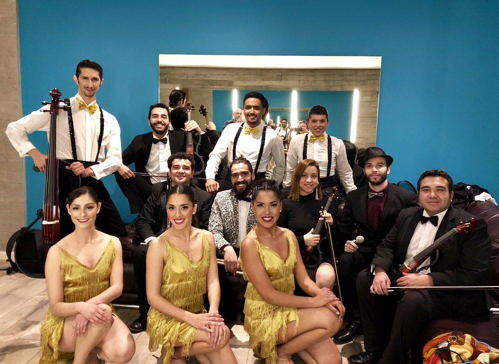 bailarines musicos cantante eventos chile agez santiago garcia huidobro chicureo