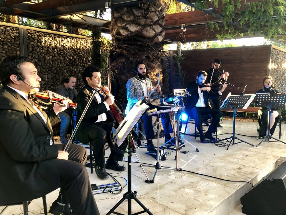 cuarteto de cuerdas string quartet santiago de chile electroclasicos musicos eventos