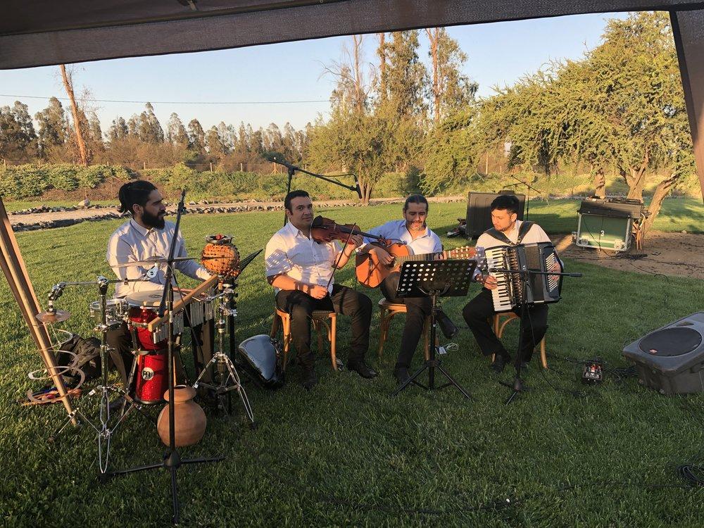 Musicos en vivo para eventos y matrimonios Chile