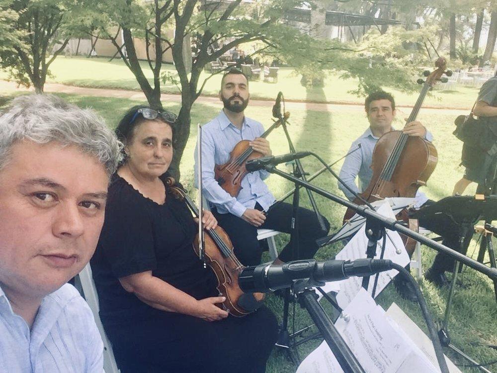 Cuarteto de cuerdas Agez Chile