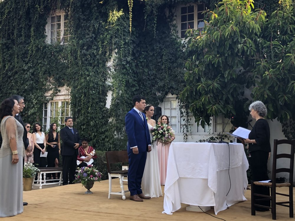 Ceremonia matrimonio en San Miguel de Tango