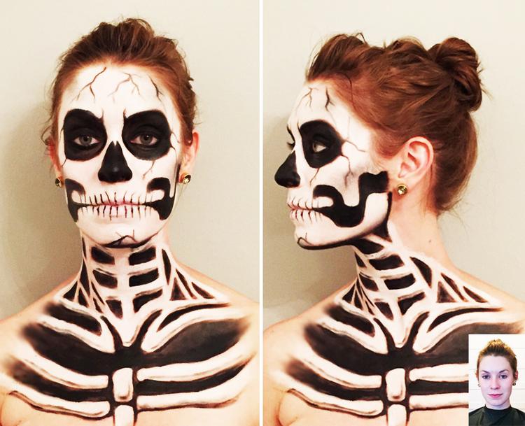 Skeleton by Maria