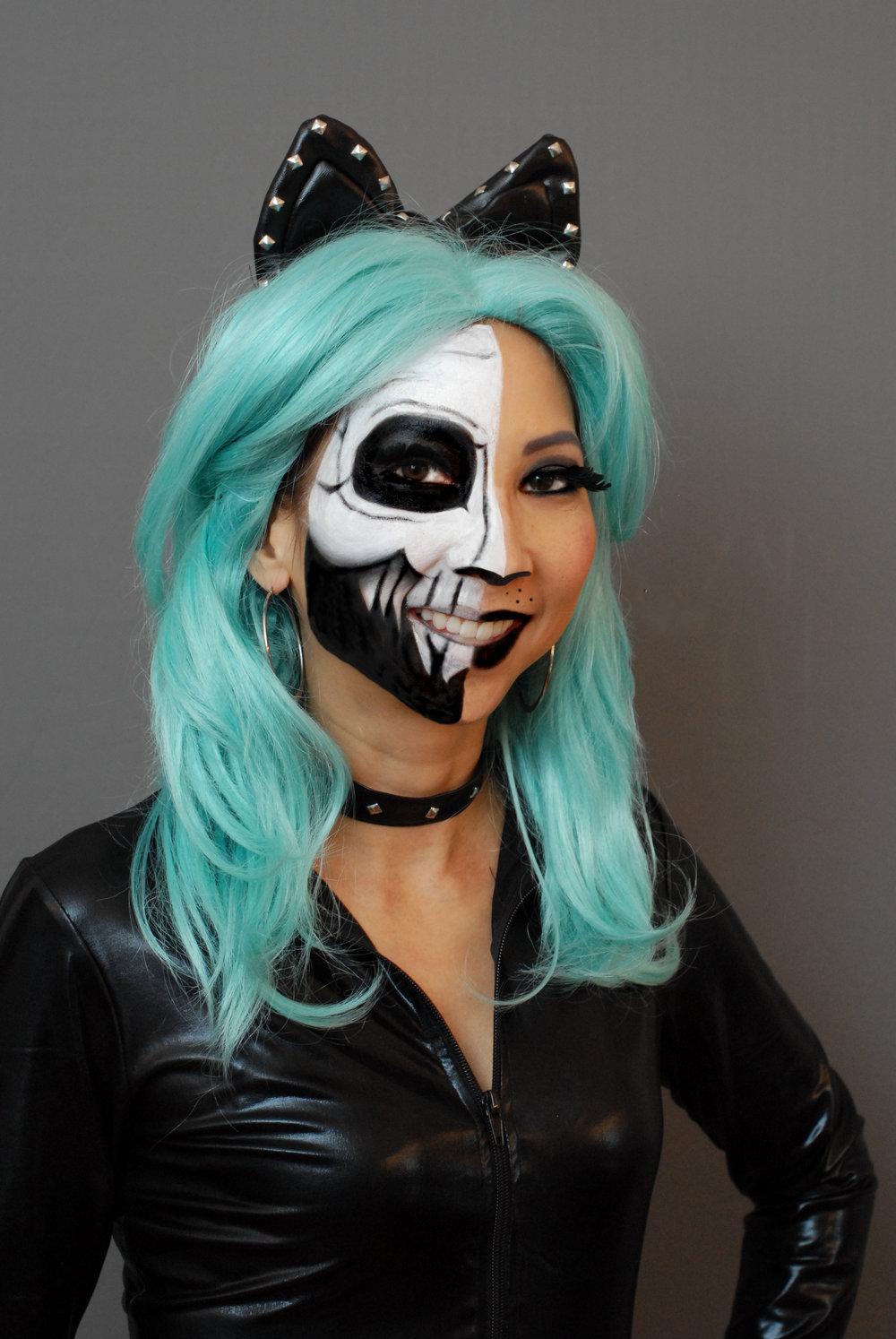 Cat Skeleton by Maria