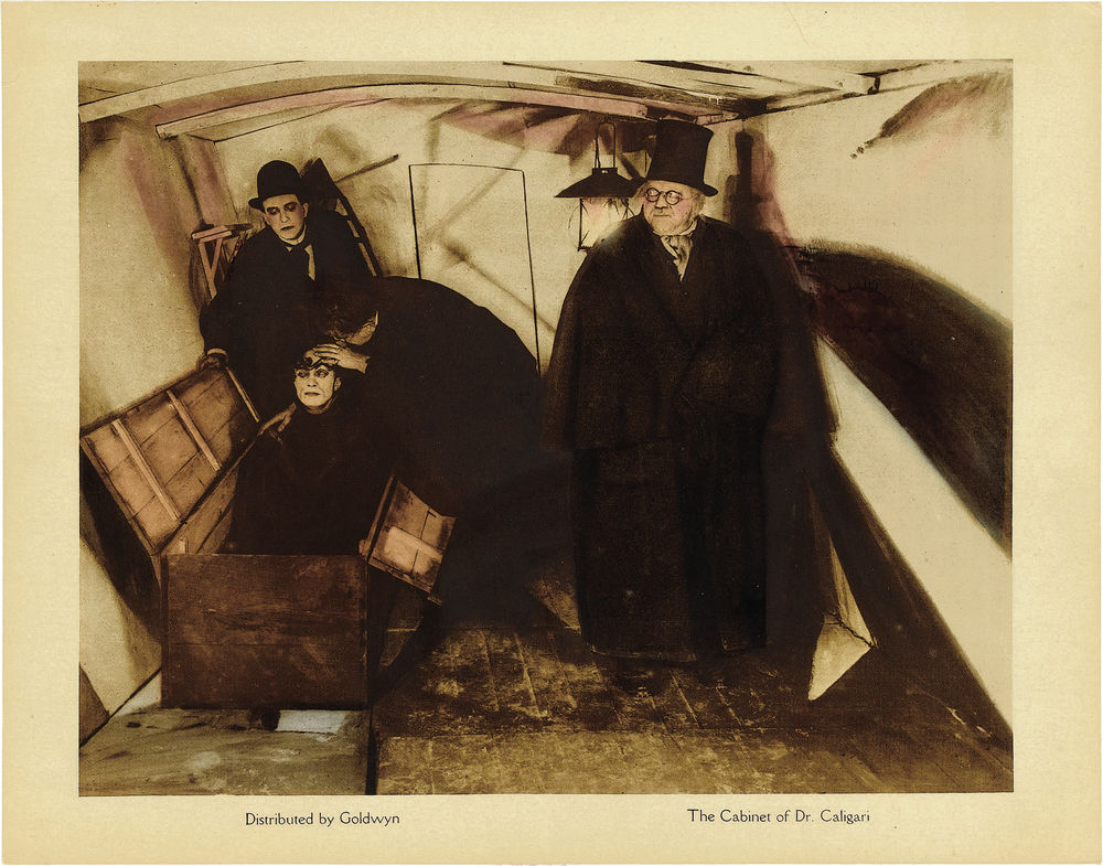 Cabinet of Dr. Caligari By Goldwyn Distributing Company (US) (Heritage Art Gallery) [Public domain], via Wikimedia Commons