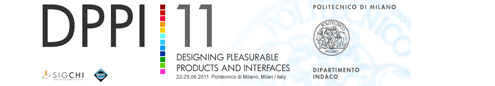 DPPI - Design for Pleasurable Products and Interfaces | Doctoral Consortium and Presenter