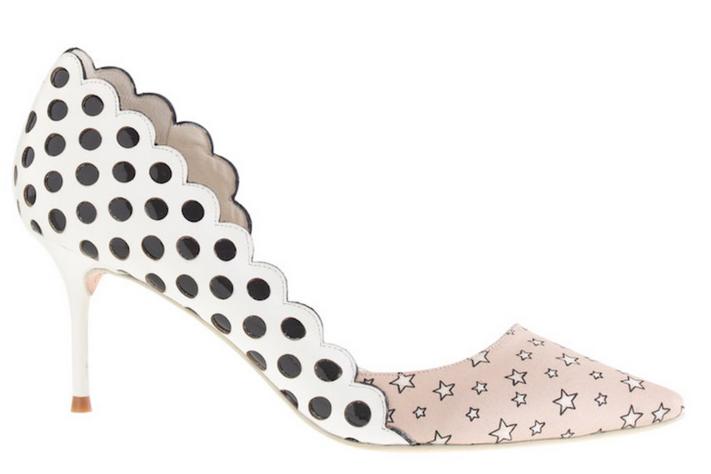 Sophia Webster for J. Crew Anneka kitten heels / above images courtesy The Cut
