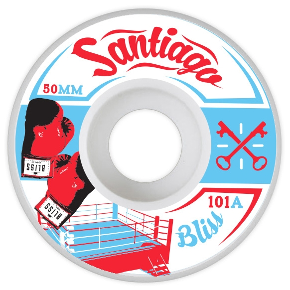 KNOCK OUT 50MM PRO WHEEL V-CUT 101A