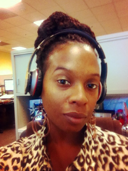 Listening to The Read at work with my wireless Beats! Cee S. California, USA