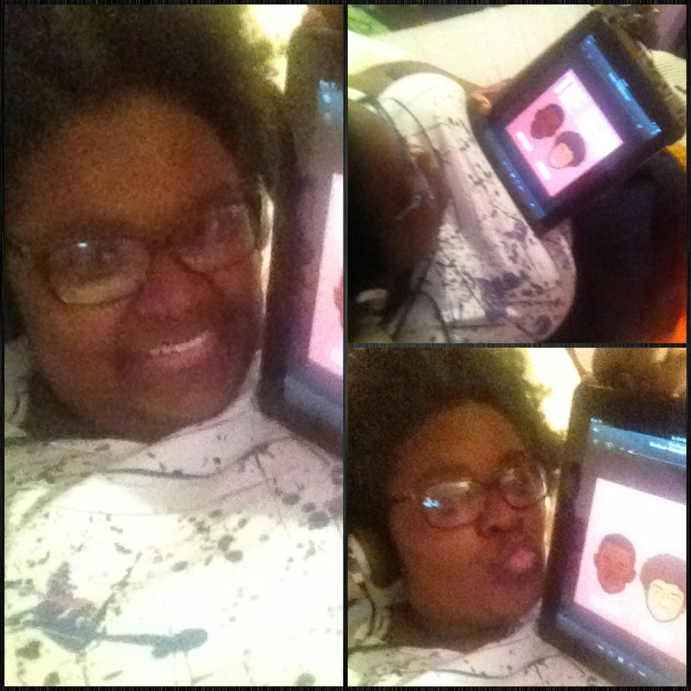 Listening to The Read while relaxing after work and online shopping! -xoxo  Christi J. Pearl, Mississippi, USA