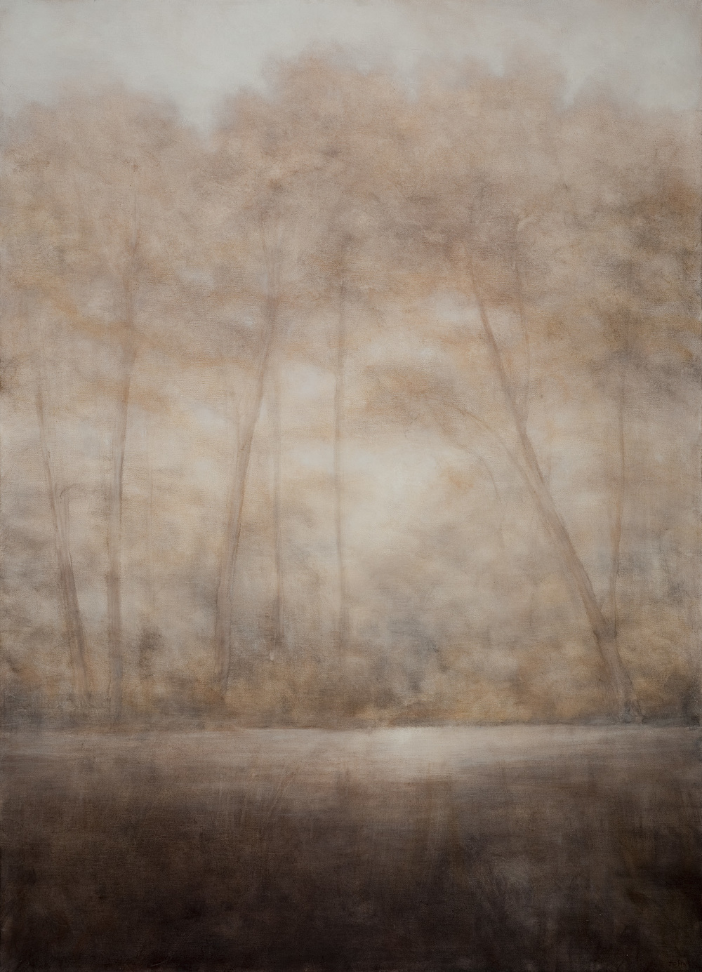 "Down the River, 40""x30"""