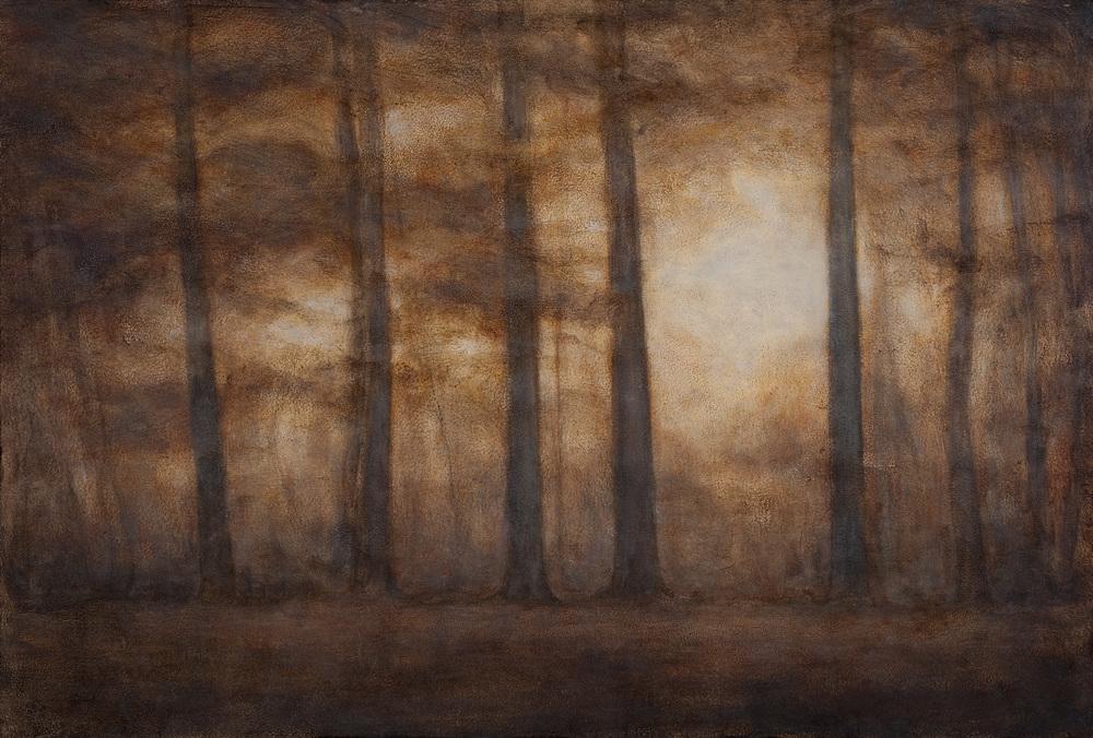"""Among Trees, 24""""x36"""""""