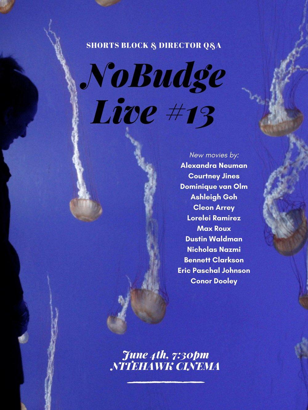 NoBudge Live #13 POSTER.jpg