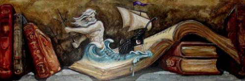 Poseidon and Ship- Artist's Inn Residence - Washington, DC