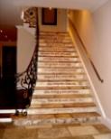 Homer Staircase Mural- Artist's Inn Residence - Washington, DC