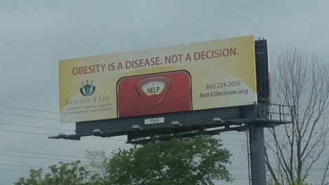 I saw this billboard along I-94 in southwestern Michigan.