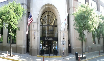 Chicago's Department of Administrative Hearings (DOAH) Central Hearing Location at 400 West Superior Street