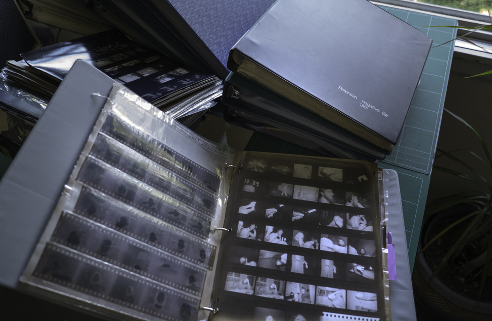 The Deep Archive consists of many binders of file pages.