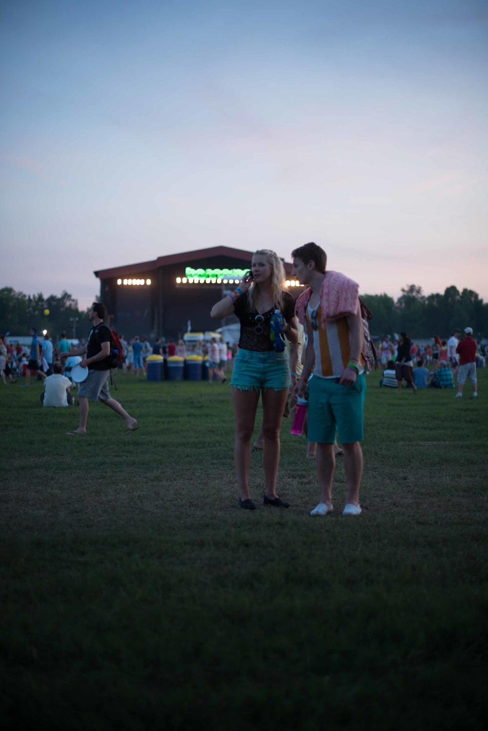 If you have never been to Bonnaroo before, it is easy to lose your friends.  Luckily... we know the drill.