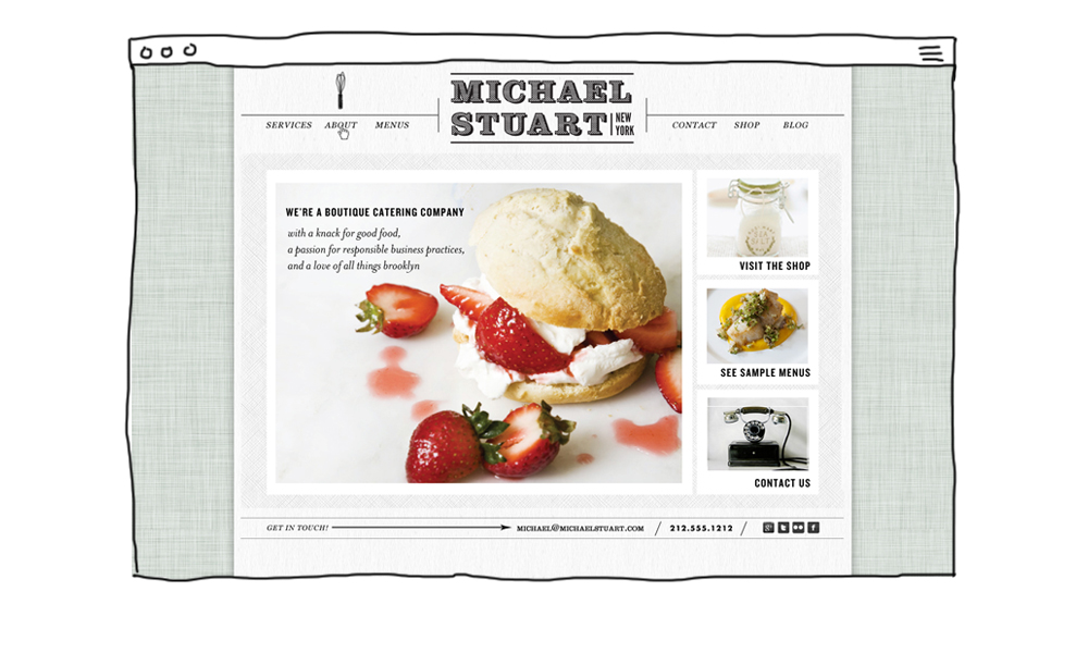 Michael Stuart New York Homepage