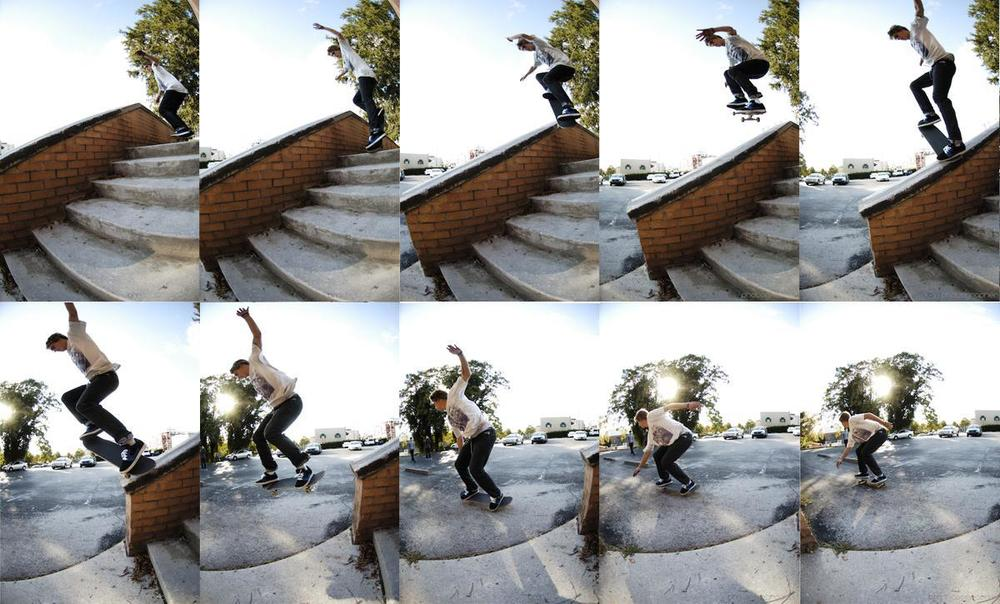 Cameron Dell: Halfcab to Bluntslide  Chattanooga, Tennessee  Photography: Brian Mcdonald