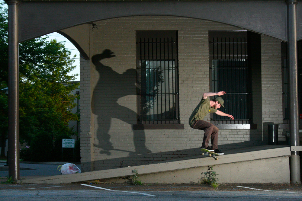 Jim Arnold: Crooked Grind  Chattanooga, tennessee  Photogrpahy: Wil Harcrow