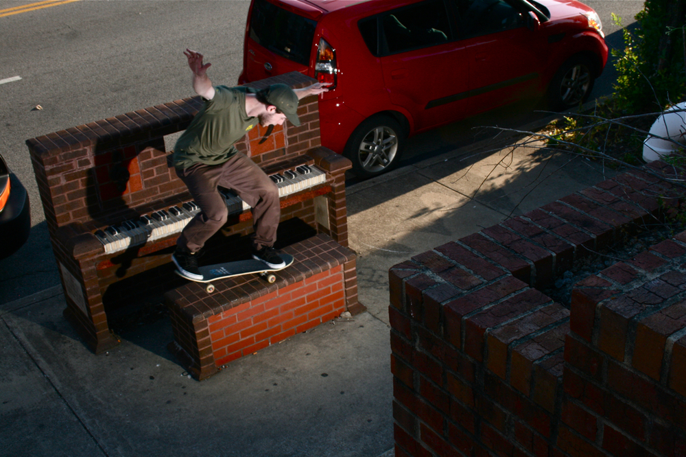 Jim Arnold: Nosemanual  Chattanooga, Tennessee  Photography: Wil Harcrow