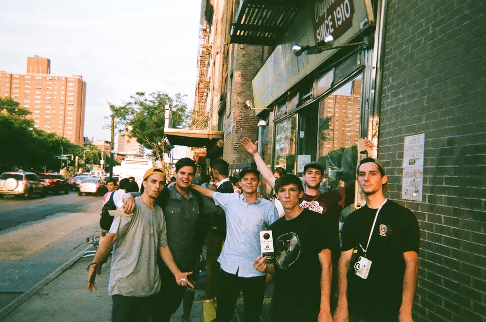Tennessee squad at Magenta Skateboard's  Soleil Levant  premiere   New york city  photography: Alex Rose