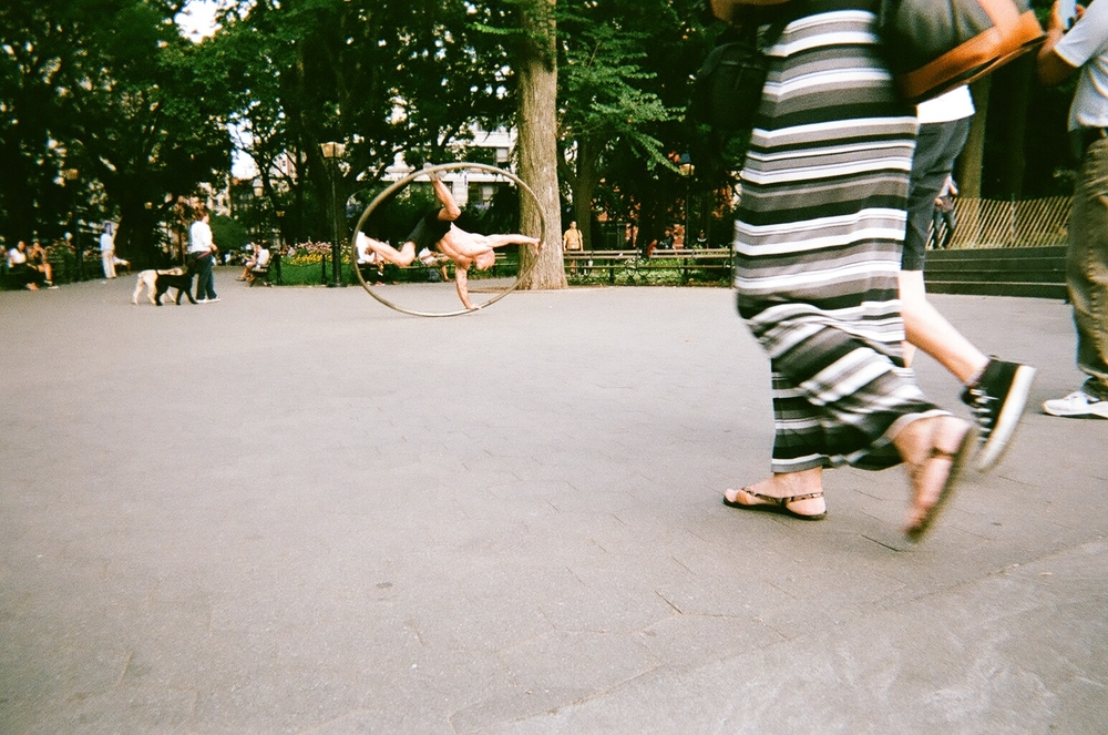 washington square park  new york city  photography: Alex Rose