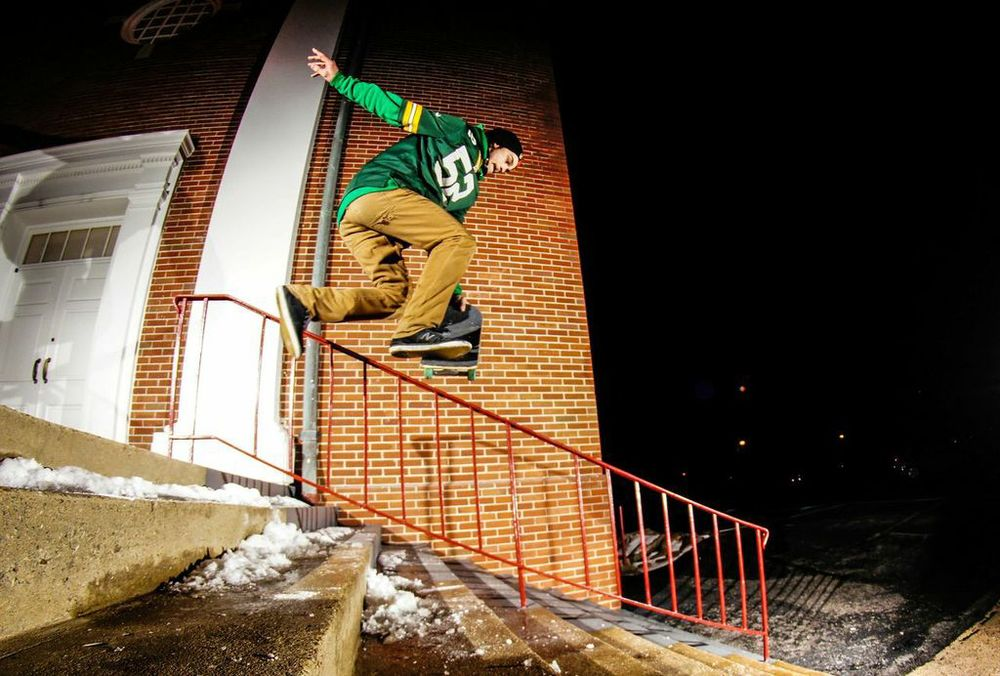 Reed Levine: Beanplant to boardslide  knoxville, tennessee  Photography: Christopher Gleason