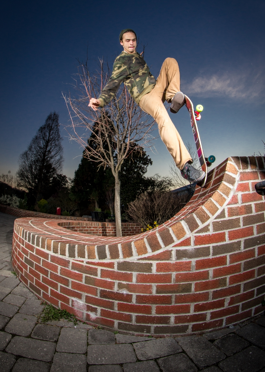 Reed Levine: Blunt to fakie natural transition  Knoxville, Tennessee  Photography: Christopher Gleason