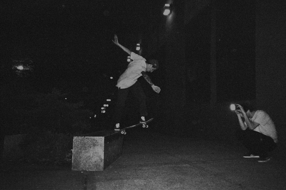 James Sayres - Backside Tailslide  brooklyn, new york  photography: Randy Rhodes
