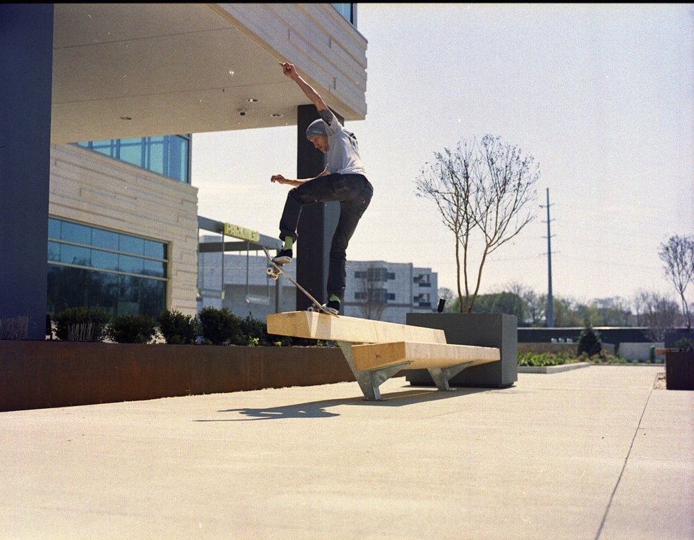 Ryan Cooper - Frontside Blunt  Nashville, Tennessee  Photography: Josh Shupe