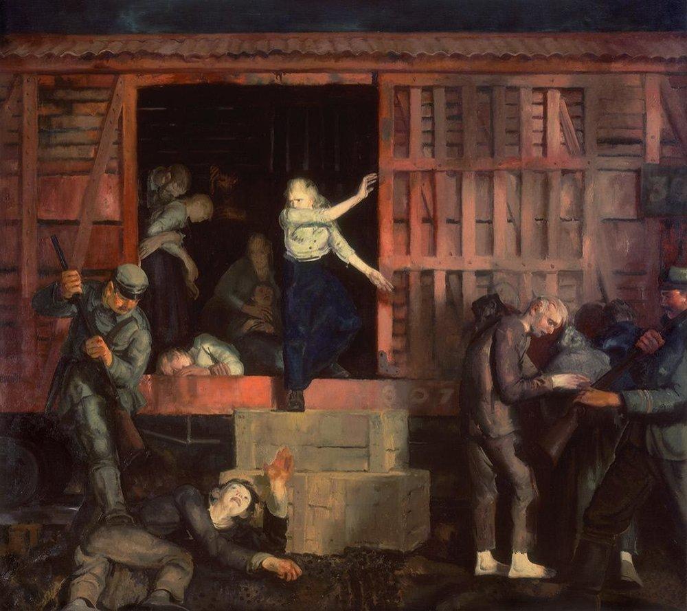 George Bellows,  Return of the Useless , 1918, Crystal Bridges Museum of American Art, Bentonville, AK