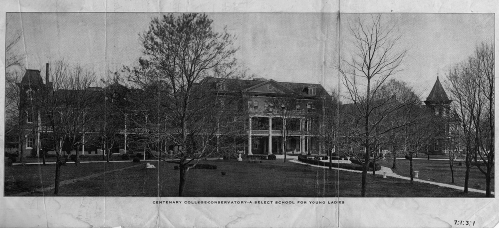 Centenary College, Cleveland, TN,  ca . 1890 (now the site of Lee University). UTK Libraries.