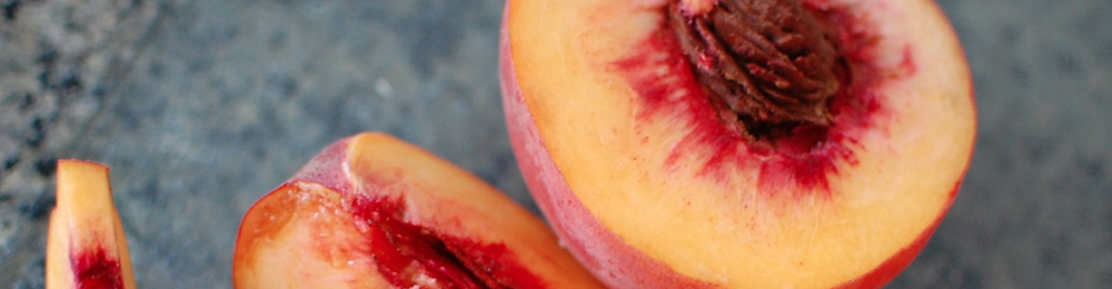 Grilling is a key to bringing out rich flavors, so grill those peaches!
