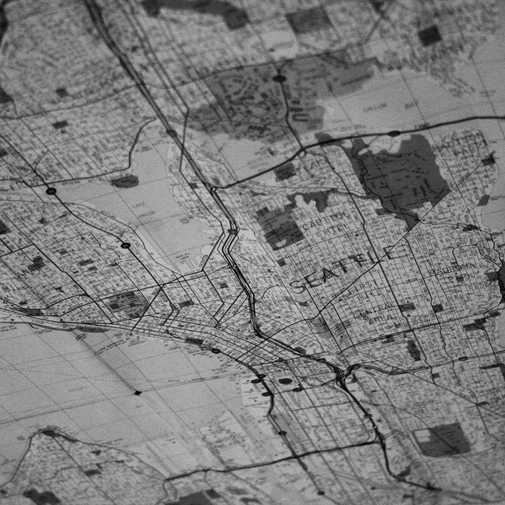 Let's draw our maps with pen and ink.