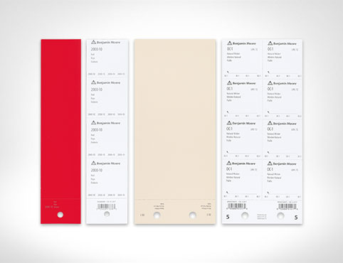 Benjamin Moore Paint Color Sheets