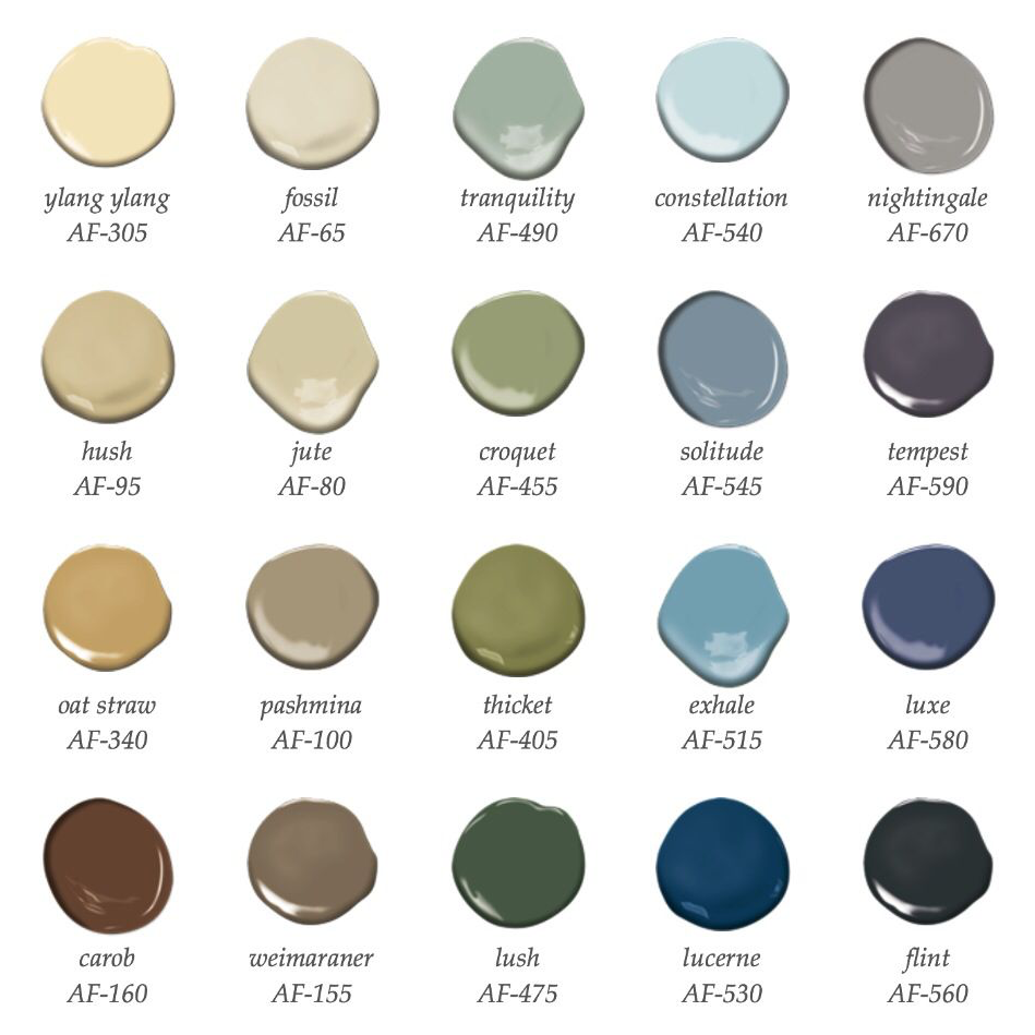 Can't-Go-Wrong Paint Color Palettes