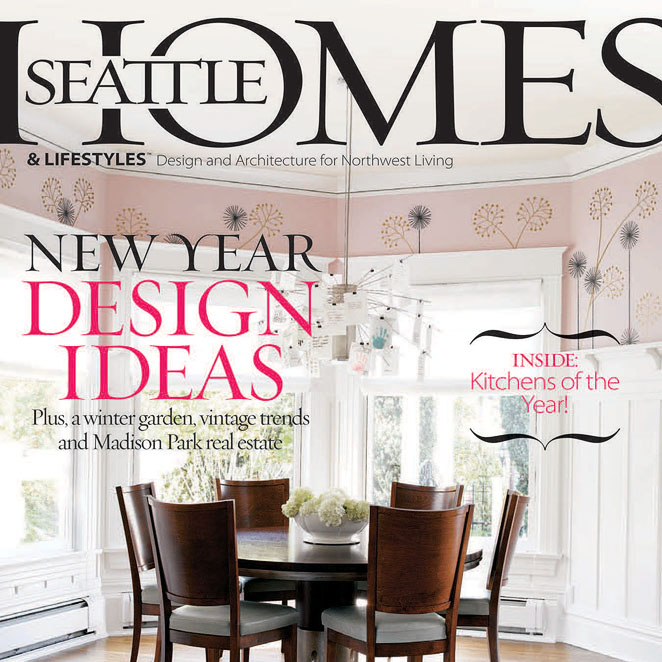 Find us in the current issue of Seattle Homes  & Lifestyles