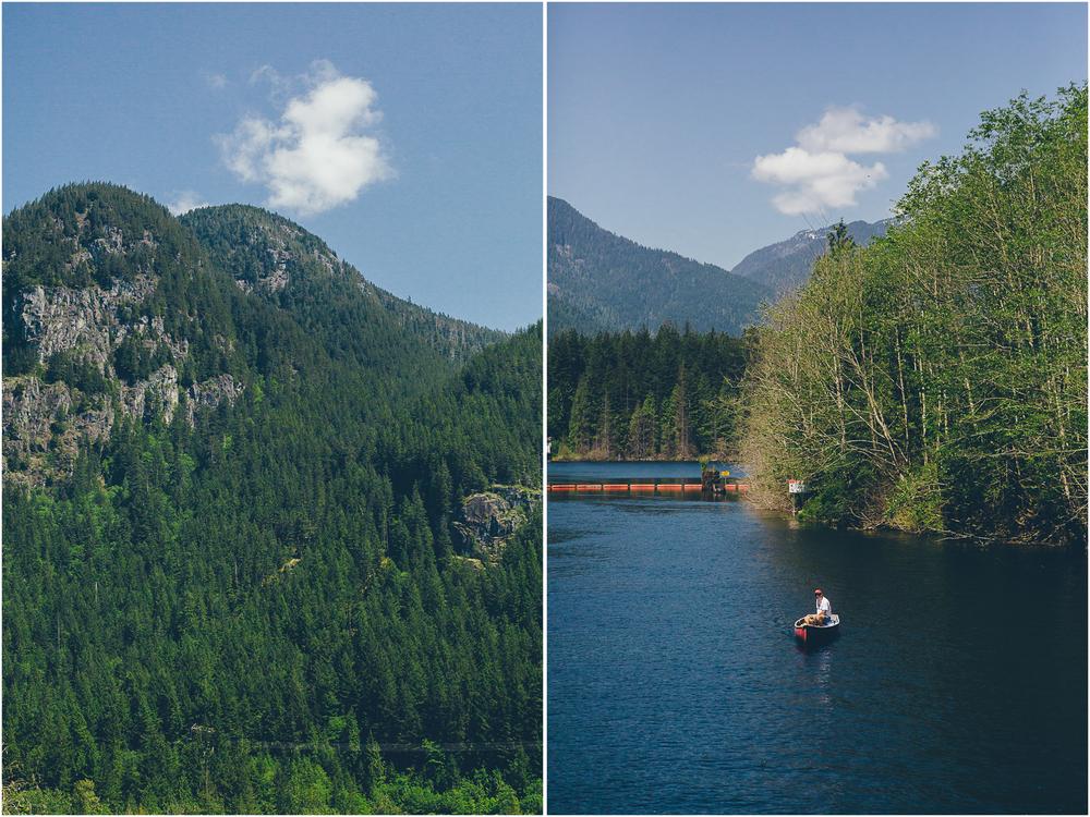 Buntzen lake hike