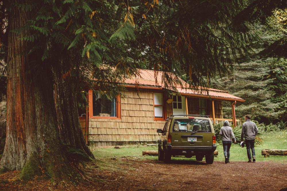 Mt Rainier cabin